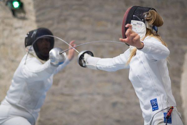 Challenge international Bordeaux - Escrime - Épée - Axelle Wasiak