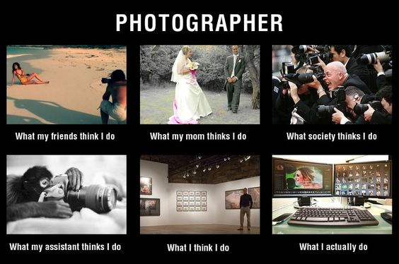 Photographe vs réalité - Photographer versus reality