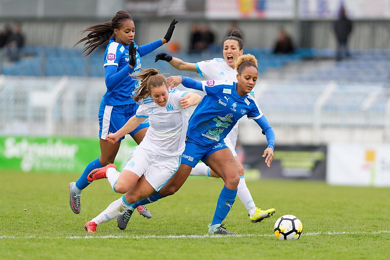 Soyaux-Marseille - Football - Championnat D1 Féminine - Aurélie Rougé