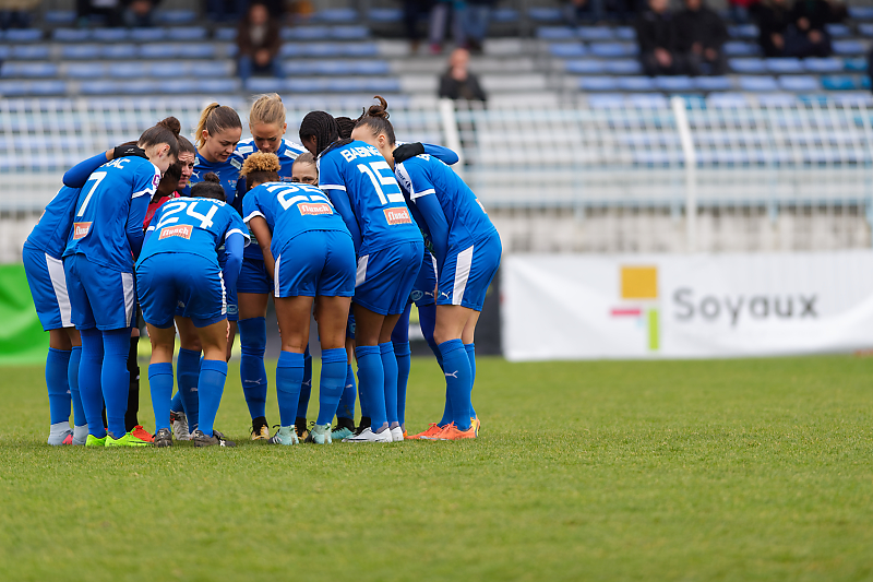 Soyaux-Marseille - Football - Championnat D1 Féminine - Asj Soyaux Charente