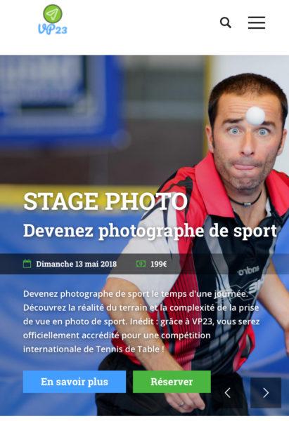 Stage photo VP23 - Mickaël Bonnami Photographe - Sport - Tennis de Table - Cognac - Damien Eloi - Formation photo