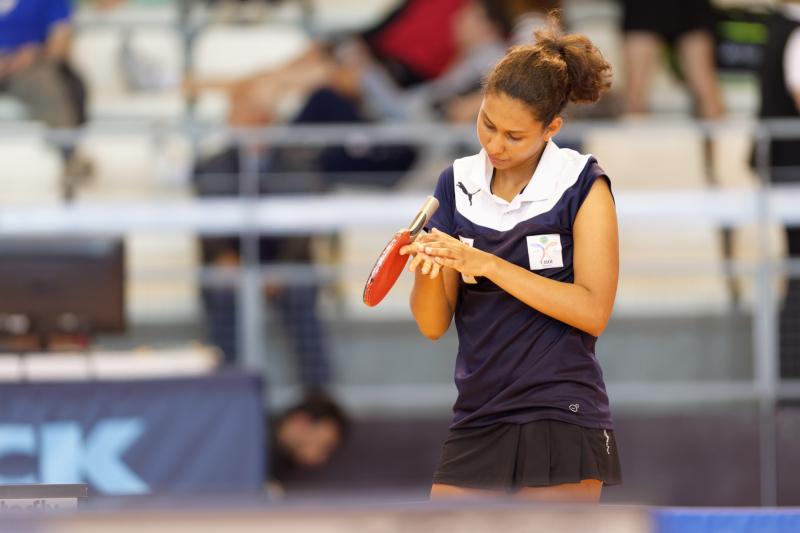 Tournoi international de Cognac 2018 - Tennis de Table - Colyne Folio