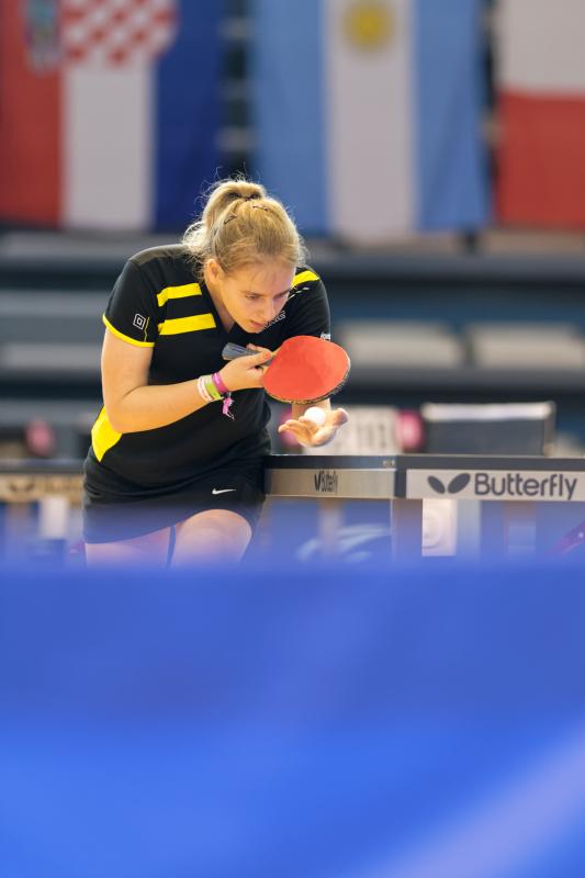 Tournoi international de Cognac 2018 - Tennis de Table - Caroline Bonhomme