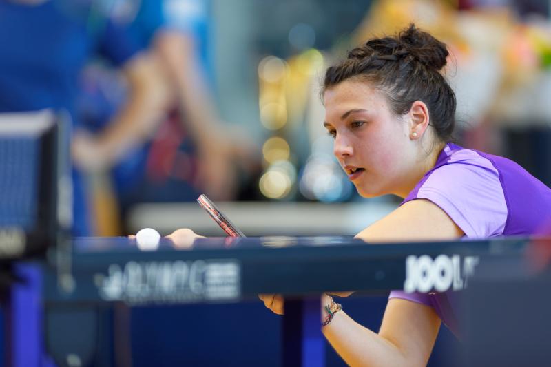 Tournoi international de Cognac 2018 - Tennis de Table - Claire Maugein