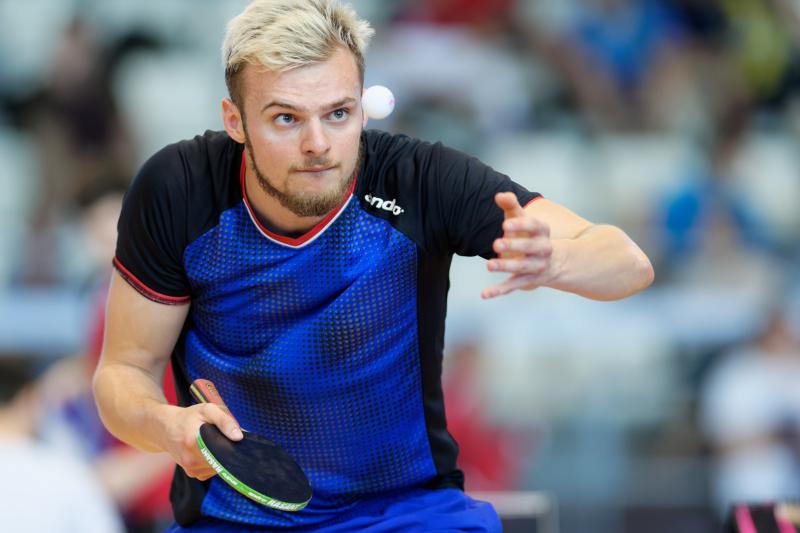 Tournoi international de Cognac 2018 - Tennis de Table - Dorian Nicolle