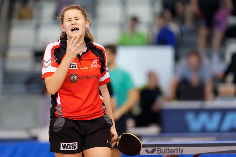 Tournoi international de Cognac 2018 - Tennis de Table - Anaïs Salpin