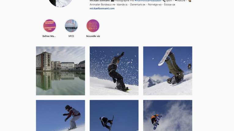 Instagram Mickal Bonnami Photographe