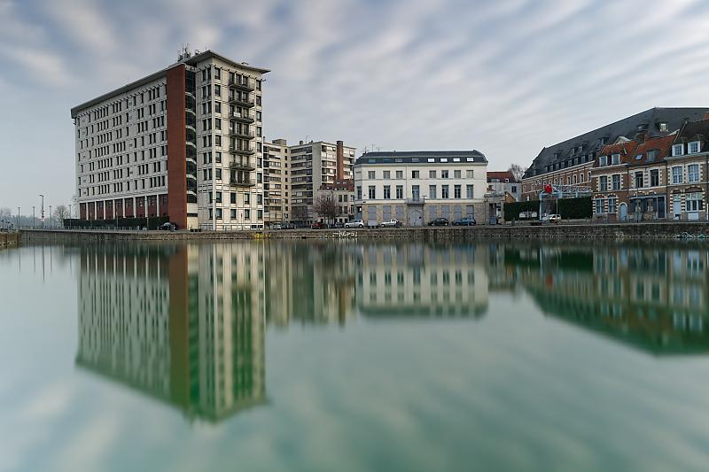 Lille - Au pays des Ch'tis - Vieux-Lille - Quai du Wault