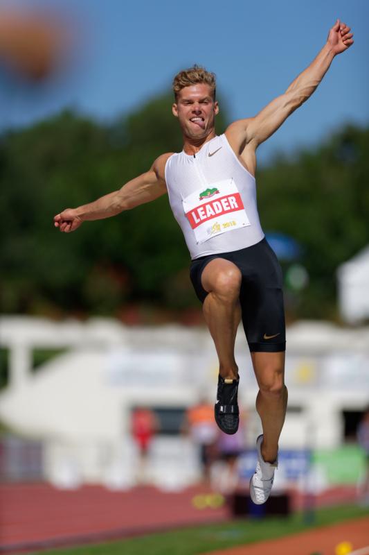 Décastar 2018 - Kévin Mayer - Longueur - 16 septembre 2018 Kévin Mayer bat le record du monde de décathlon avec 9126 points