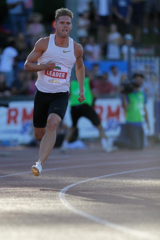 Décastar 2018 - Kévin Mayer - 400m - 16 septembre 2018 Kévin Mayer bat le record du monde de décathlon avec 9126 points