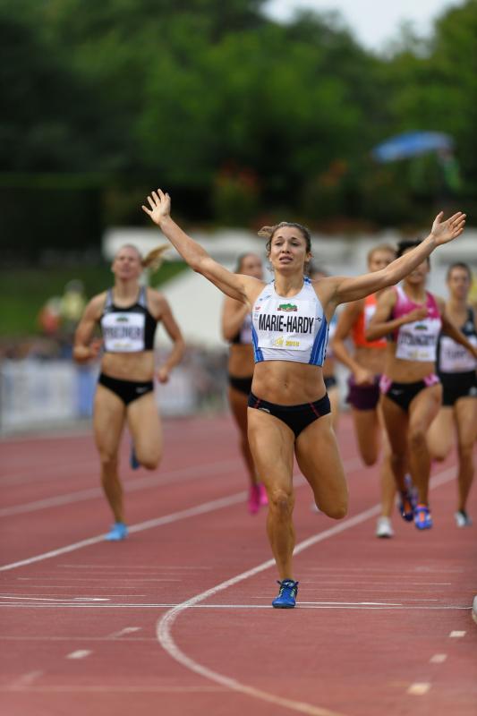 Décastar 2018 - Diane Marie-Hardy - 800m - 16 septembre 2018 Kévin Mayer bat le record du monde de décathlon avec 9126 points
