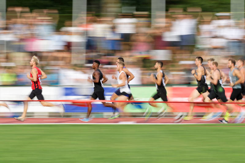 Décastar 2018 - Kévin Mayer - 1500m - 16 septembre 2018 Kévin Mayer bat le record du monde de décathlon avec 9126 points