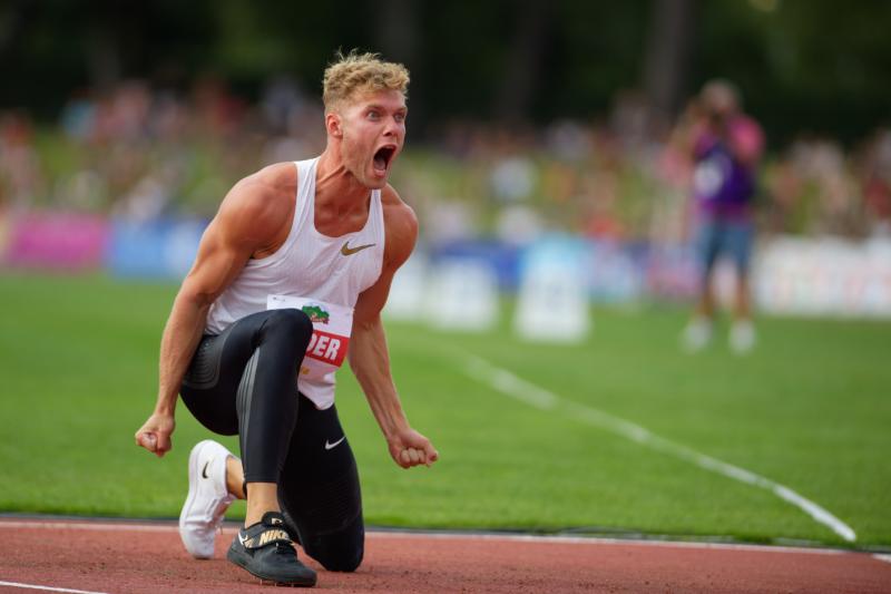 Décastar 2018 - Kévin Mayer - Hauteur - 16 septembre 2018 Kévin Mayer bat le record du monde de décathlon avec 9126 points