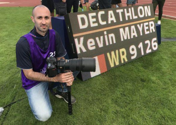 Mickaël Bonnami Photographe de sport - 16 septembre 2018 Kévin Mayer bat le record du monde de décathlon avec 9126 points