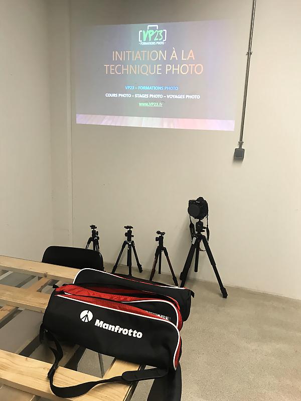 Trépied Manfrotto Befree Advanced - Cours photo VP23 - Initiation à la technique photo - Formation photo - Mickaël Bonnami Photographe