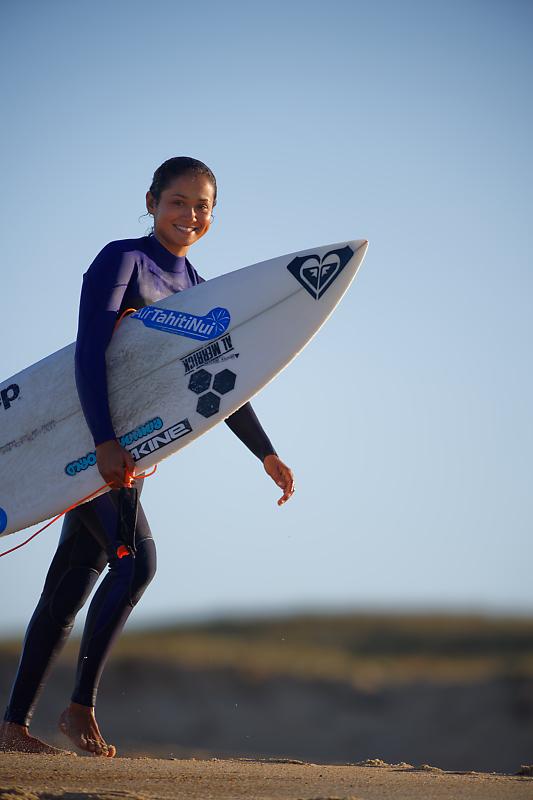 Ambiances surf à Hossegor - Hossegor - Seignosse - Capbreton - Quiksilver pro France - Roxy Pro France - Vahine Fierro