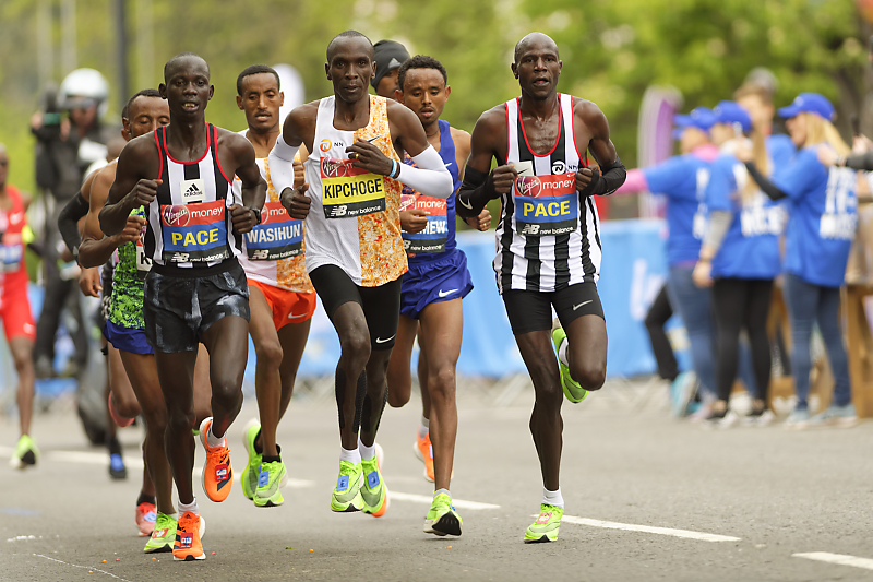 Marathon Londres 2019 - London marathon - Eliud Kipchoge
