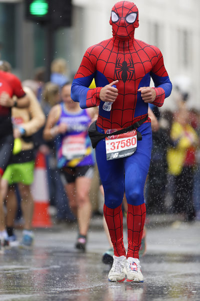 Marathon Londres 2019 - London marathon - Spiderman