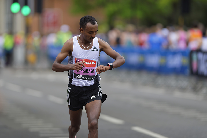 Marathon Londres 2019 - London marathon - Leule Gebresilasie