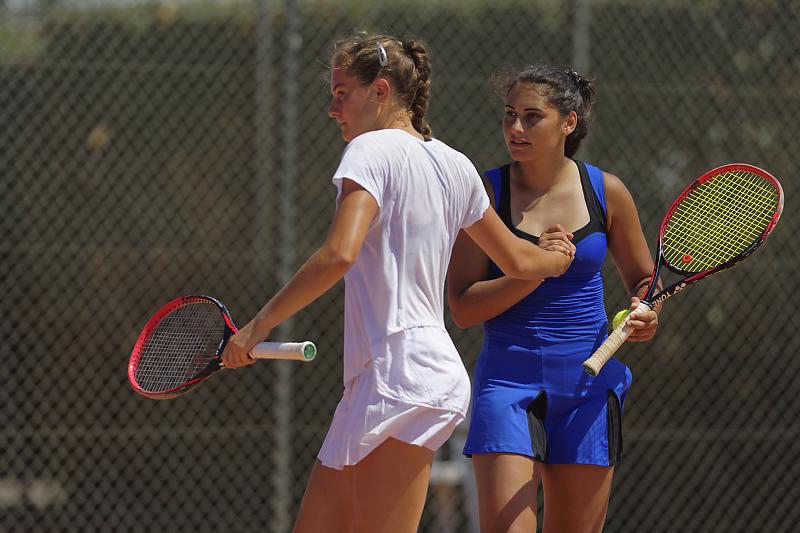 Engie Open Biarritz 2019 - Tennis - Rania Aziz - Mathilde Dury