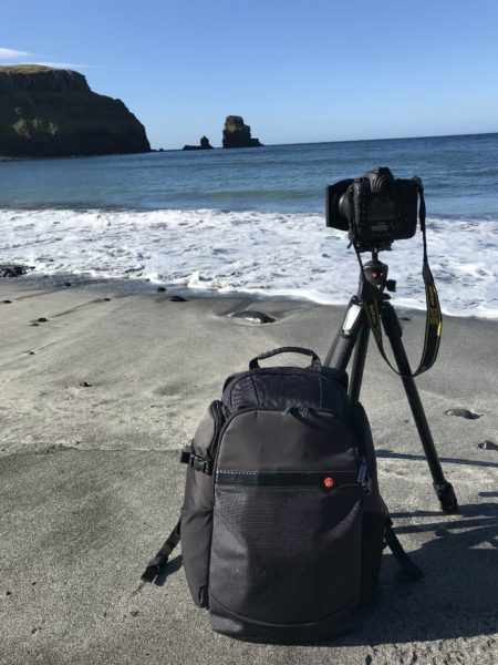 Sac photo Manfrotto Rear Access - Test - Ecosse - Talisker Beach