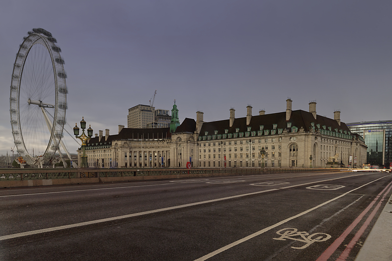Dans les rues de Londres - London - Voyage photo VP23 - Westminster Bridge - London Eye