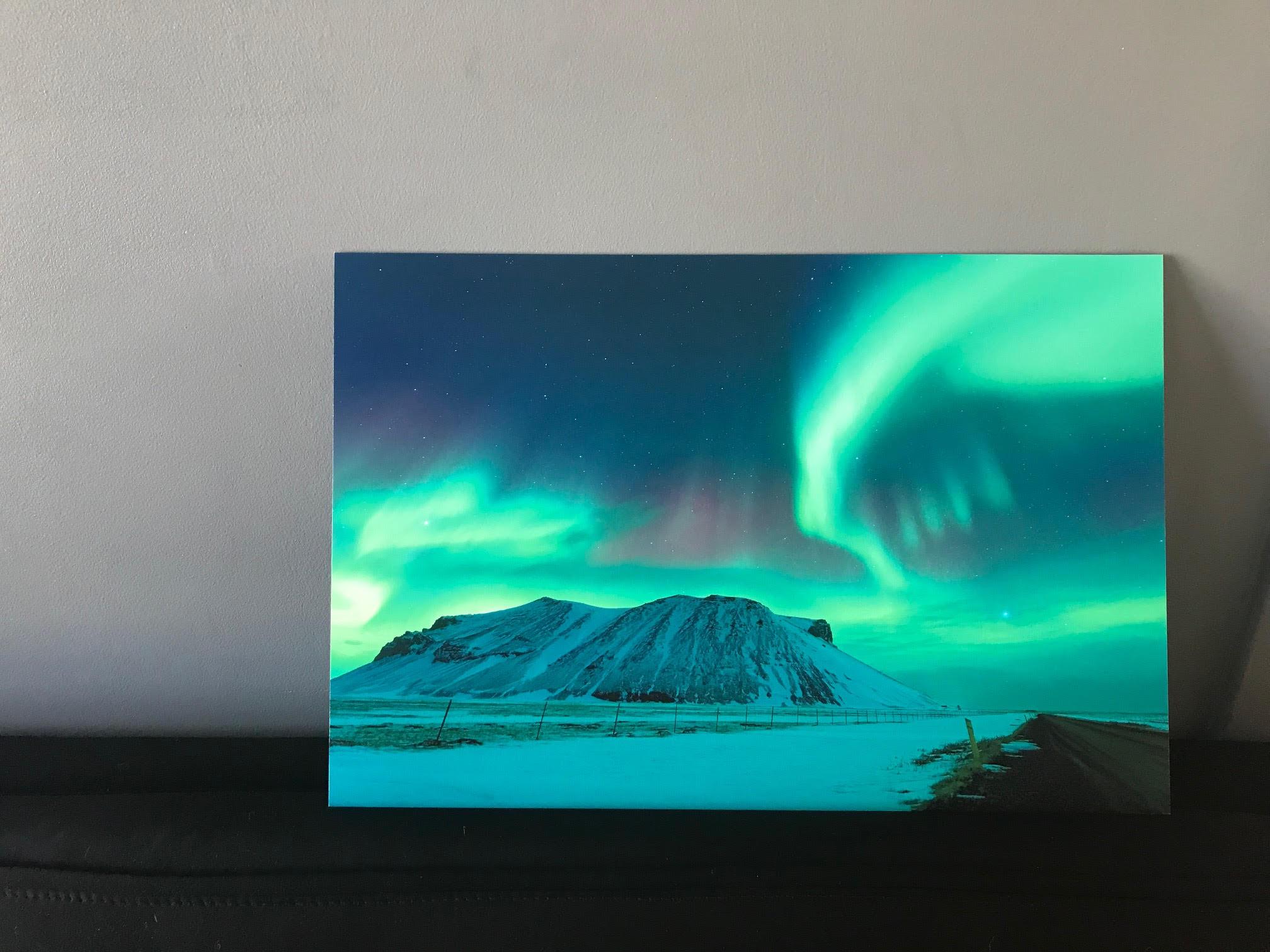 Tirage d'art - Mickaël Bonnami Photographe - Islande - Aurore boréale