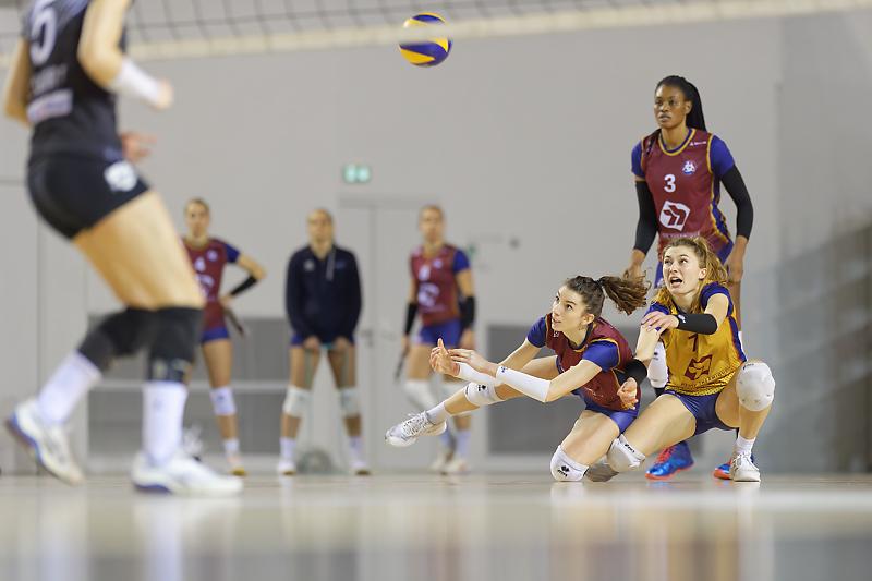 Burdis Bordeaux - Volley-Ball - Mathilde Ruchaud - Clara Martin - Bordeaux Mérignac Volley