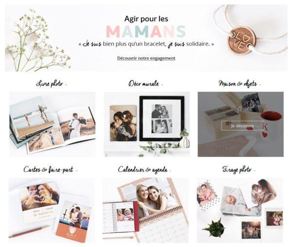 Accueil site web Photoweb