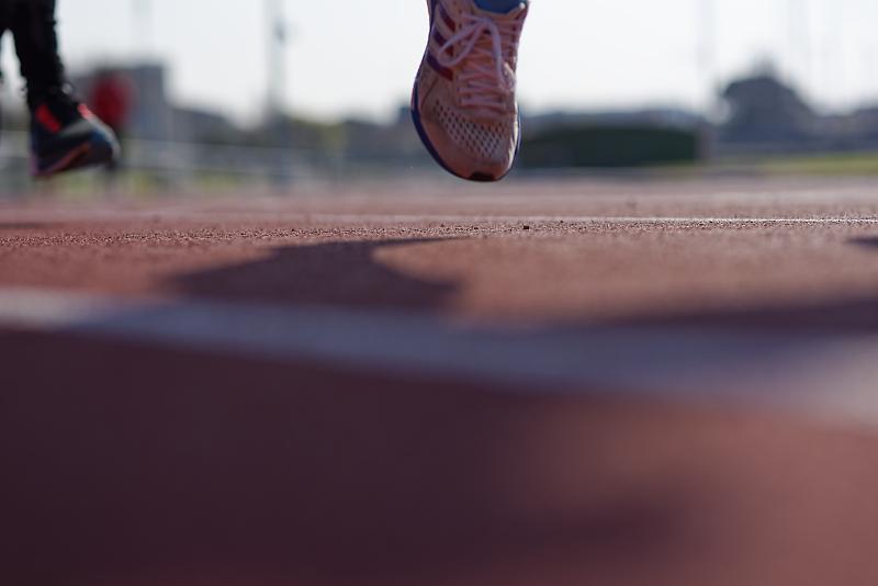 Réalisation d'un reportage photo sur une course avec le Club d'Athlétisme de Cognac pour le compte de la Fédération Française d'Athlétisme
