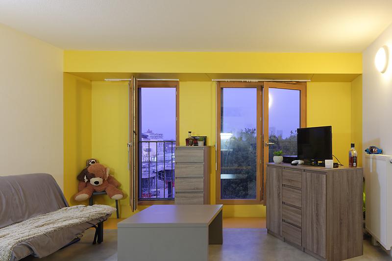 Prestation photo sur une résidence de logements pour jeunes