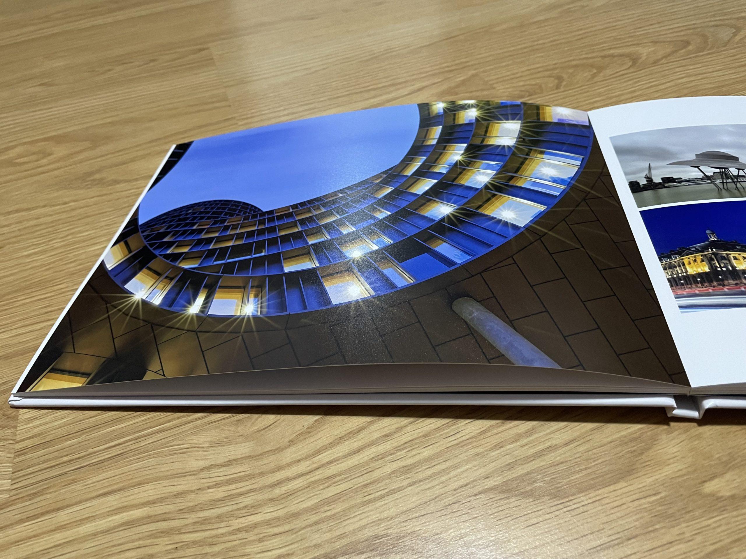 Test du livre photo de Photoweb
