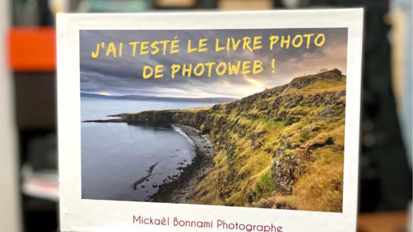 J'ai testé le livre photo de Photoweb !