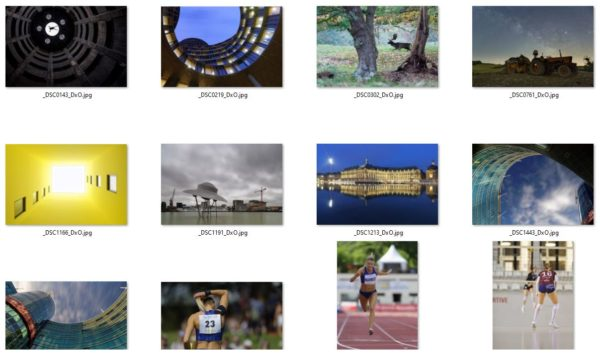 Dossier avec sélection des photos pour le livre Photoweb