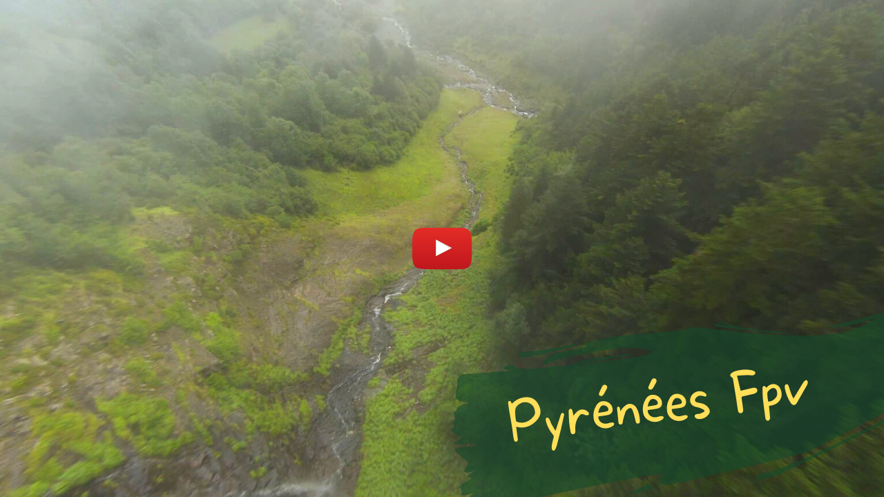 Pyrénées Fpv - Dji Fpv Combo - Vidéo cinématique Pyrénées - Drone Fpv