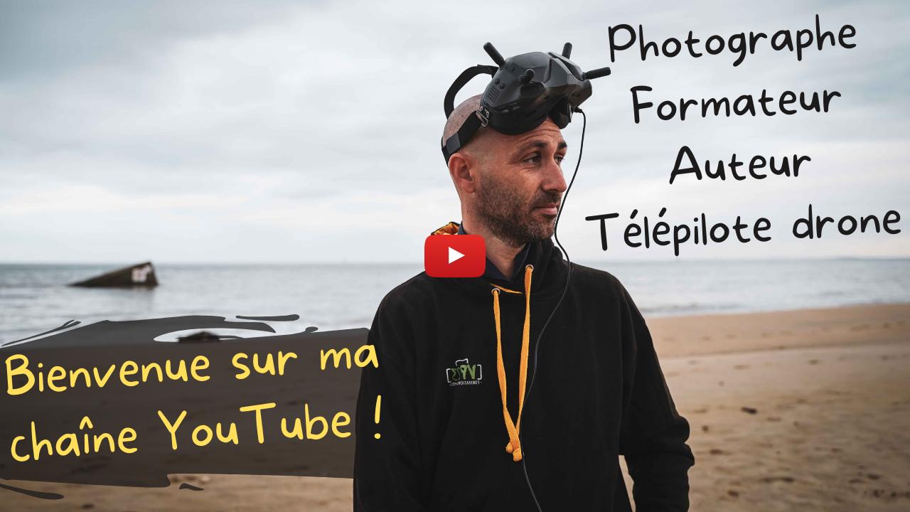 Mickaël Bonnami Photographe - Présentation de mes activités - Photographe - Formateur Photo - Télépilote de drone - Auteur - VP23