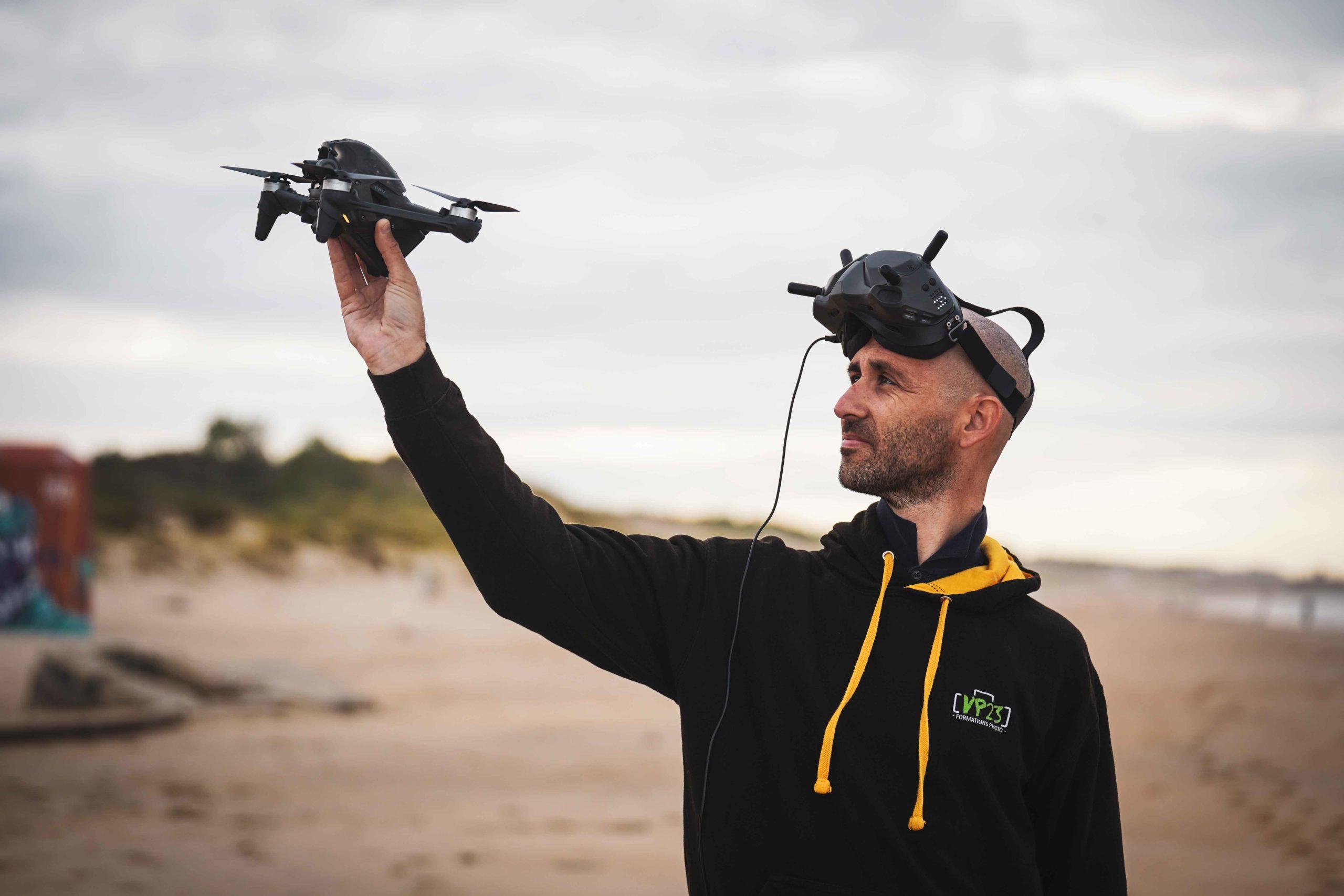 Mickael Bonnami Photographe - Télépilopte de drone - Dji Fpv Combo - Brool Video